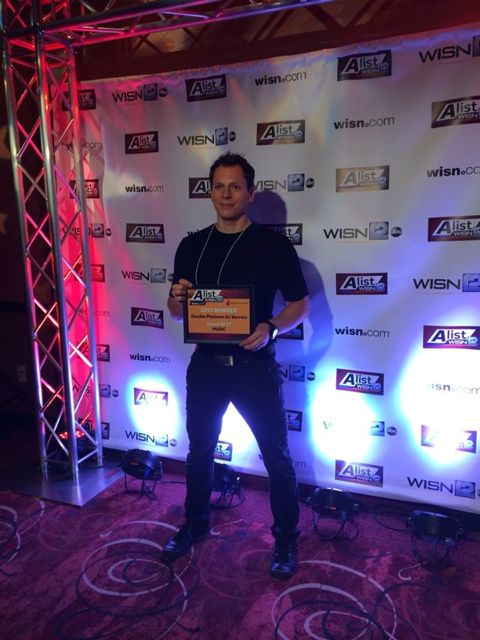 A-List Milwaukee Dj Award Winner