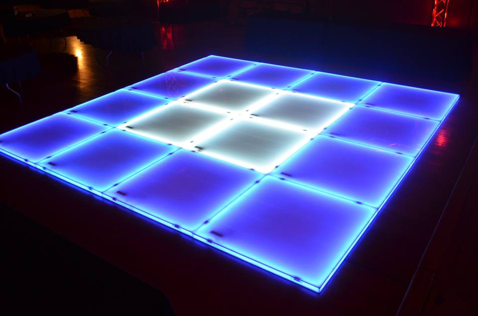 LED Dance Floor Light-Up Wedding